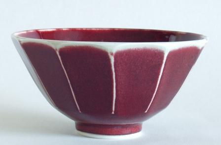 Copper red bowl by Christo Giles
